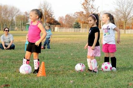 Toddler Soccer and Children Soccer in San Diego lessons